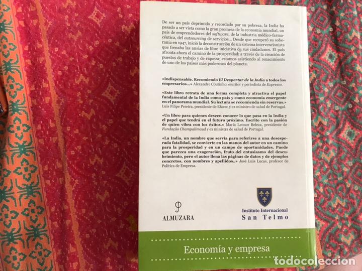 Libros de segunda mano: El despertar de la India. El milagro económico en el pais de los emprendedores. Eugenio Viassa - Foto 2 - 171967025