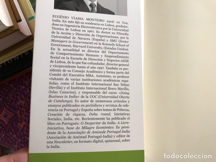 Libros de segunda mano: El despertar de la India. El milagro económico en el pais de los emprendedores. Eugenio Viassa - Foto 4 - 171967025