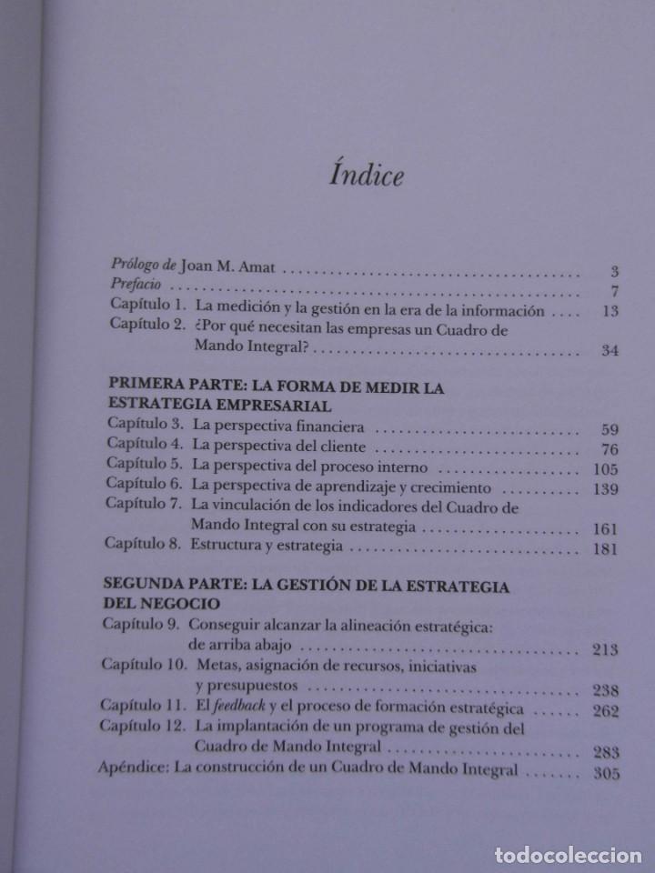 Cuadro De Mando Integral The Balanced Scorecard Robert S Kaplan 2000 Debibl