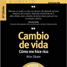 Libros de segunda mano: CAMBIO DE VIDA. Lote 172663867