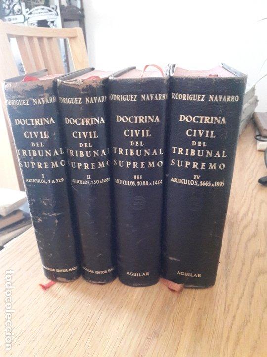 DOCTRINA CIVIL DEL TRIBUNAL SUPREMO EDITORIAL: AGUILAR., 1951 (Libros de Segunda Mano - Ciencias, Manuales y Oficios - Derecho, Economía y Comercio)