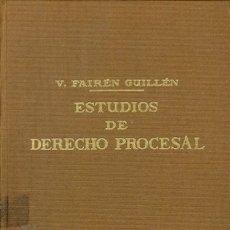 Libros de segunda mano: ESTUDIOS DE DERECHO PROCESAL. Lote 173267058