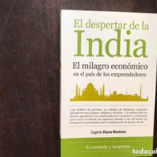 Libros de segunda mano: EL DESPERTAR DE LA INDIA. EL MILAGRO ECONÓMICO. BUEN ESTADO. Lote 173357103