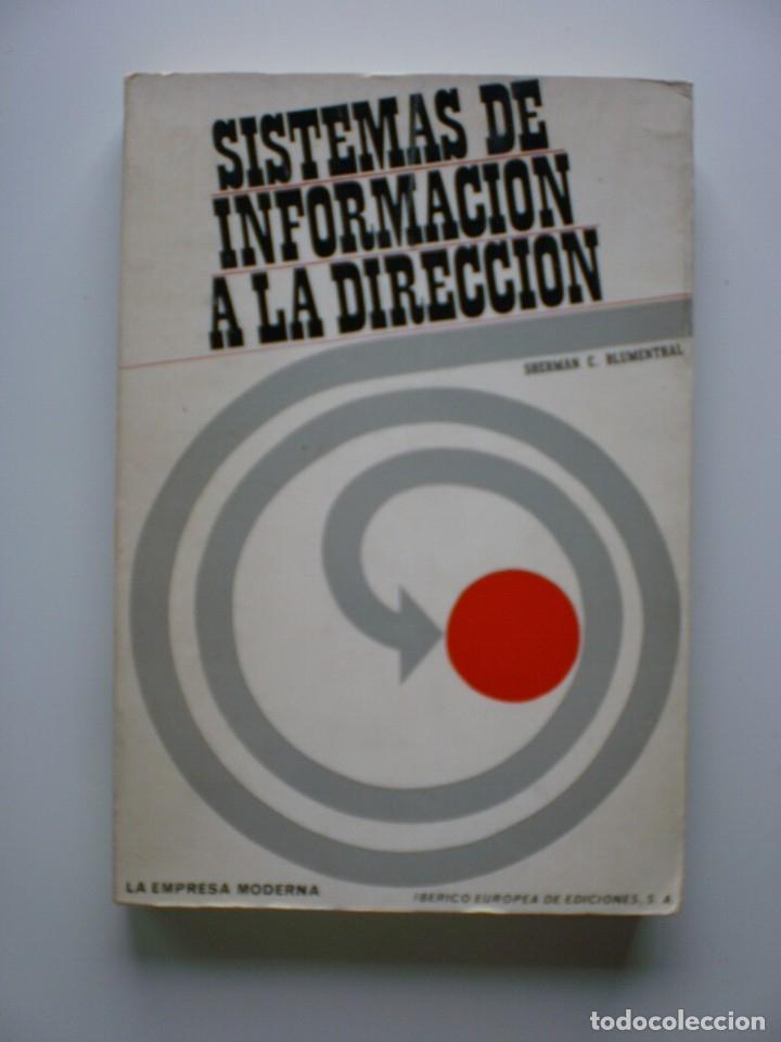 SISTEMAS DE INFORMACION A LA DIRECCION (Libros de Segunda Mano - Ciencias, Manuales y Oficios - Derecho, Economía y Comercio)