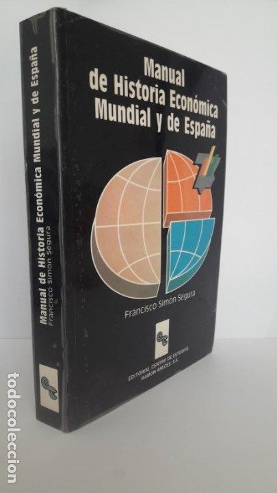 MANUAL DE HISTORIA ECONÓMICA MUNDIAL Y DE EUROPA. (CEURA, 1990) (Libros de Segunda Mano - Ciencias, Manuales y Oficios - Derecho, Economía y Comercio)