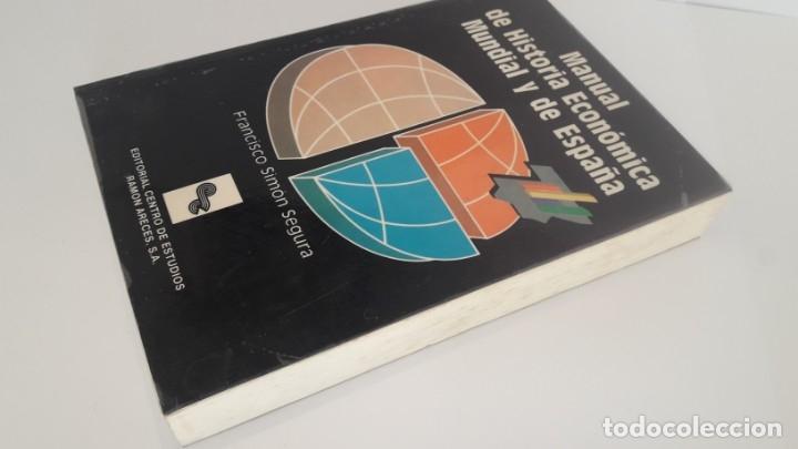 Libros de segunda mano: MANUAL DE HISTORIA ECONÓMICA MUNDIAL Y DE EUROPA. (CEURA, 1990) - Foto 2 - 173681390