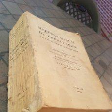 Libros de segunda mano: MODERNO MANUAL DE FORMULARIOS PARA AYUNTAMIENTOS Y JUZGADOS DE PAZ 1956. Lote 173849803
