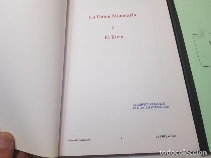 Libros de segunda mano: Programas sobre la implantación del Euro en España para Bancos - Foto 2 - 173856728
