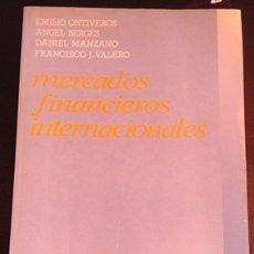 Libros de segunda mano: MERCADOS FINANCIEROS INTERNACIONALES. - VV.AA.. Lote 173691157