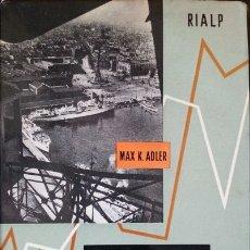 Libros de segunda mano: LA MODERNA INVESTIGACION DE MERCADOS. - ADLER, MAX K.. Lote 173695307