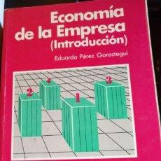 Libri di seconda mano: ECONOMIA DE LA EMPRESA (INTRODUCCION). - PEREZ GOROSTEGUI, EDUARDO.. Lote 173738744