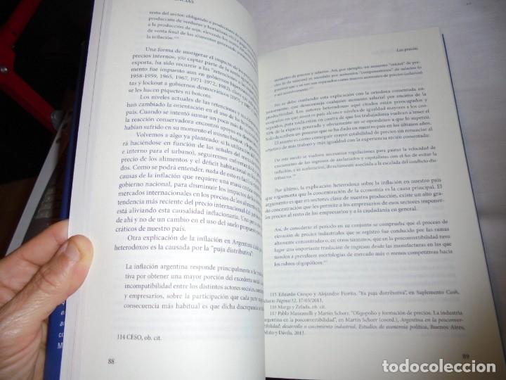 Libros de segunda mano: BUENAS HERENCIAS.EL LEGADO ECONOMICO DEL KIRCHNERISMO.ALEJANDRO BARRIOS.PROLOGO DE ALEJANDRO VANOLI. - Foto 4 - 174339415