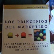 Libros de segunda mano: LOS PRINCIPIOS DEL MARKETING - ESIC - CINCO DÍAS. Lote 174378067
