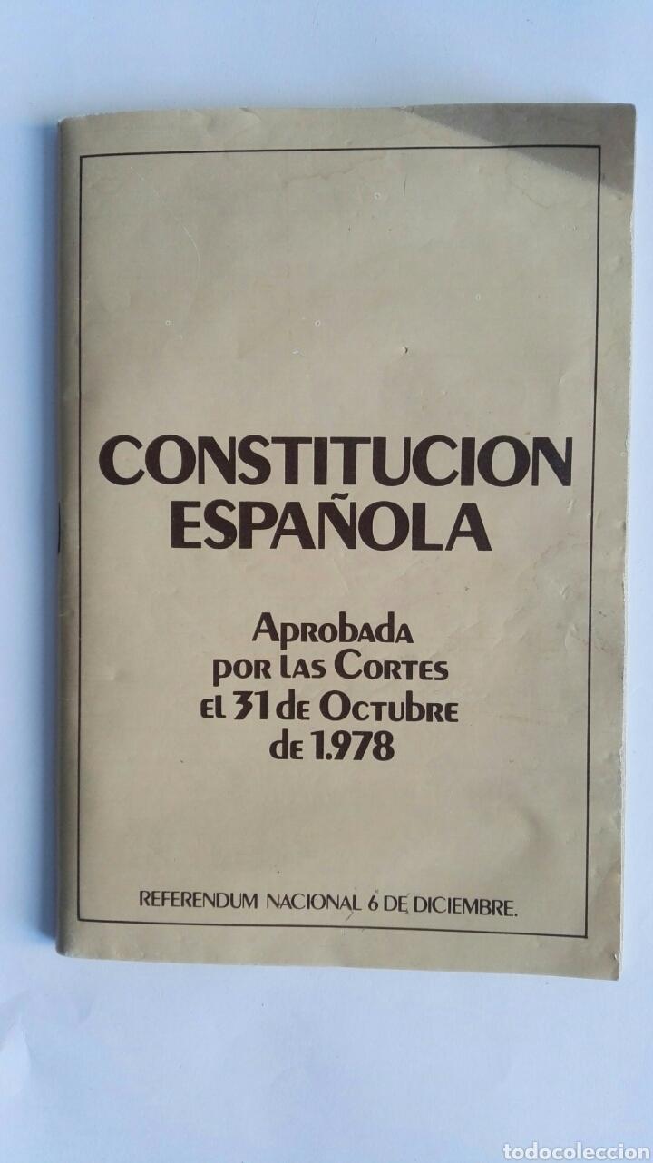 CONSTITUCIÓN ESPAÑOLA (Libros de Segunda Mano - Ciencias, Manuales y Oficios - Derecho, Economía y Comercio)