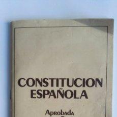 Libros de segunda mano: CONSTITUCIÓN ESPAÑOLA. Lote 174430852