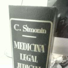 Libros de segunda mano: MEDICINA LEGAL JUDICIAL. Lote 174467555