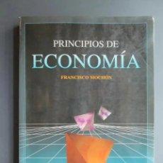 Libros de segunda mano: PRINCIPIOS DE ECONOMIA - FRANCISCO MOCHON - MCGRAW-HILL 1995 / 97 - UNED. Lote 175073329
