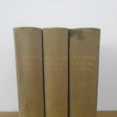 Libros de segunda mano: ENCICLOPEDIA COMERCIAL GINER. TRES TOMOS. Lote 175427187