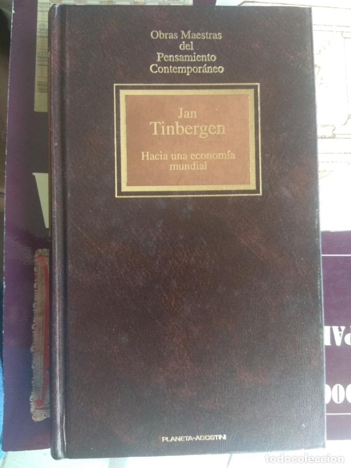 HACIA UNA ECONOMÍA MUNDIAL / JAN TINBERGEN (Libros de Segunda Mano - Ciencias, Manuales y Oficios - Derecho, Economía y Comercio)