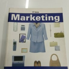 Libros de segunda mano: MARKETING PHILIP KOTLER PEARSON 10° EDICIÓN ECONOMIA COACHING VENTAS. Lote 175693735