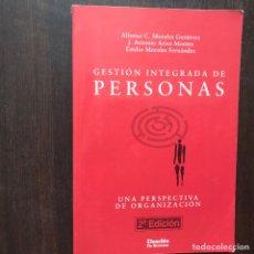 Libros de segunda mano: GESTIÓN INTEGRADA DE PERSONAS. ALFONSO C. MORALES. DESCLÉE. COMO NUEVO. Lote 176229394