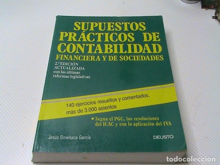 Supuestos Prácticos De Contabilidad Financiera Comprar Libros De Derecho Economía Y Comercio En Todocoleccion 176146889