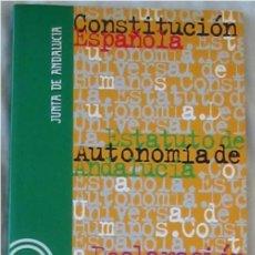 Libros de segunda mano: CONSTITUCIÓN ESPAÑOLA / ESTATUTO AUTONOMÍA DE ANDALUCÍA / DECLARACIÓN UNIVERSAL DERECHOS HUMANOS. Lote 176683440