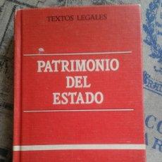 Libros de segunda mano: PATRIMONIO DEL ESTADO (LEY DEROGADA 89/1962 DE BASES DEL PATRIMONIO DEL ESTADO). 1983.. Lote 177184615