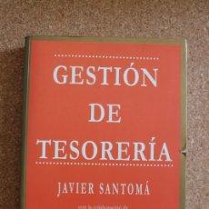 Libros de segunda mano: GESTIÓN DE TESORERÍA. CON LA COLABORACIÓN DE ALFONSO ÁLVAREZ. SANTOMÁ (JAVER). Lote 177405600