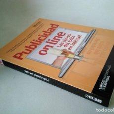 Libros de segunda mano: ESIC. PUBLICIDAD ON LINE. LAS CLAVES DEL ÉXITO EN INTERNET.. Lote 177522319