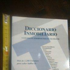 Libros de segunda mano: DICCIONARIO INMOBILIARIO METROS. Lote 178068953