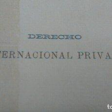 Libros de segunda mano: DERECHO INTERNACIONAL PRIVADO ASSER. Lote 178070193