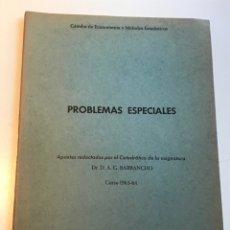 Libros de segunda mano: ALGUNOS MODELOS ECONOMETRICOS. 1963-64 D.A.G. BARRANCHO LA EMIGRACION Y LA POBLACION AGRARIA ESPAÑA. Lote 178138352