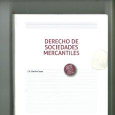 Libros de segunda mano: DERECHO DE SOCIEDADES MERCANTILES. J. A. GARCÍA-CRUCES. Lote 178228271