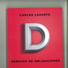 Libros de segunda mano: DERECHOS Y OBLIGACIONES. PRINCIPIOS DE DERECHO CIVIL TOMO SEGUNDO. CARLOS LASARTE. Lote 178258462