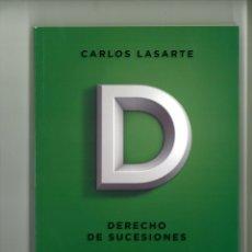 Libros de segunda mano: DERECHO DE SUCESIONES. PRINCIPIOS DE DERECHO CIVIL TOMO SÉPTIMO. CARLOS LASARTE. Lote 178258601