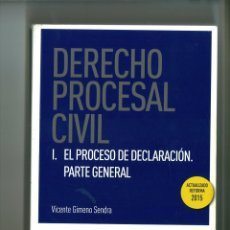 Libros de segunda mano: DERECHO PROCESAL CIVIL VICENTE GIMENO SENDRA. Lote 178259748