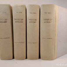 Libros de segunda mano: DERECHO HIPOTECARIO. REGISTRO DE LA PROPIEDAD. TOMOS I-II-III-IV: COMPLETO. ROCA SASTRE, RAMÓN M.ª.. Lote 178322957