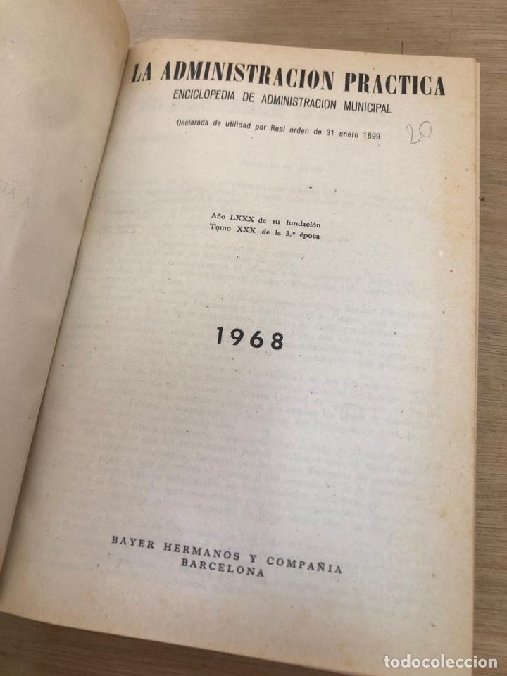 Libros de segunda mano: La administración practica - Foto 3 - 178436425