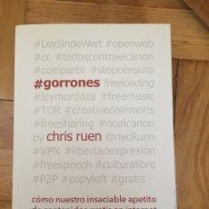 Libros de segunda mano: #GORRONES. RUEN, CHRIS 2016. Lote 178598462