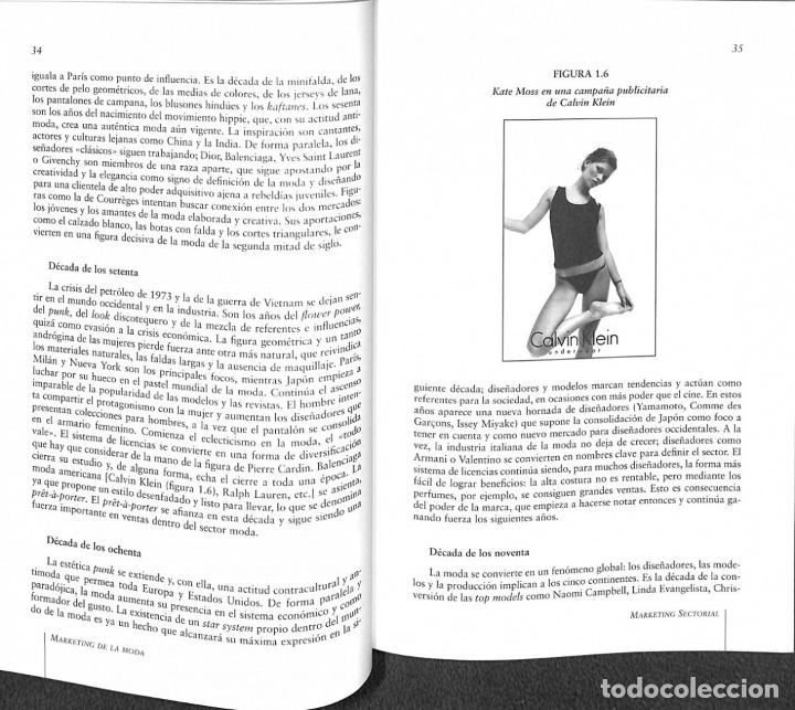Libros de segunda mano: Marketing De La Moda - Ana Isabel Vázquez Casco - Ediciones Pirámide - Marketing Sectorial - Foto 3 - 178691947
