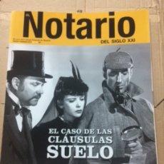 Libros de segunda mano: EL NOTARIO DEL SIGLO XXI. NÚMERO 71. 2017. Lote 179544515