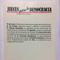 Libros de segunda mano: JUECES PARA LA DEMOCRACIA. INFORMACIÓN Y DEBATE. NÚMERO 87. 2016. Lote 180040596