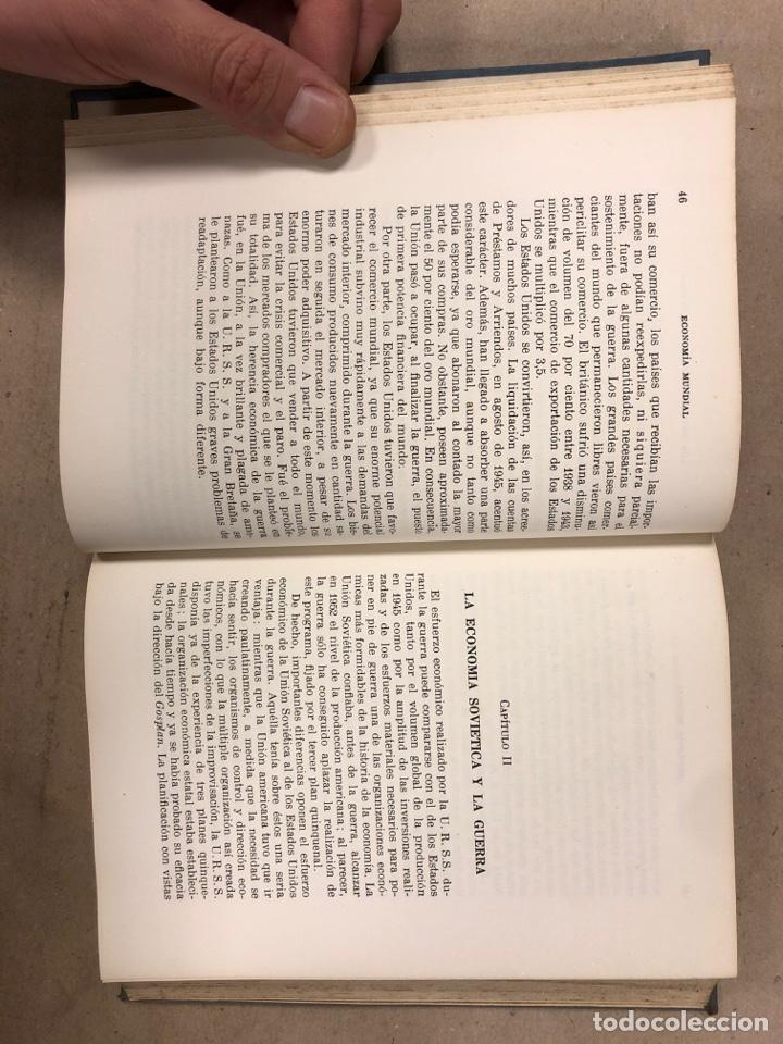 Libros de segunda mano: LA ECONOMÍA MUNDIAL CONTEMPORÁNEA. JEAN CHARDONNET. EDITORIAL TEIDE 1952. COLECCIÓN DURÁN Y BAS IV - Foto 4 - 180267547