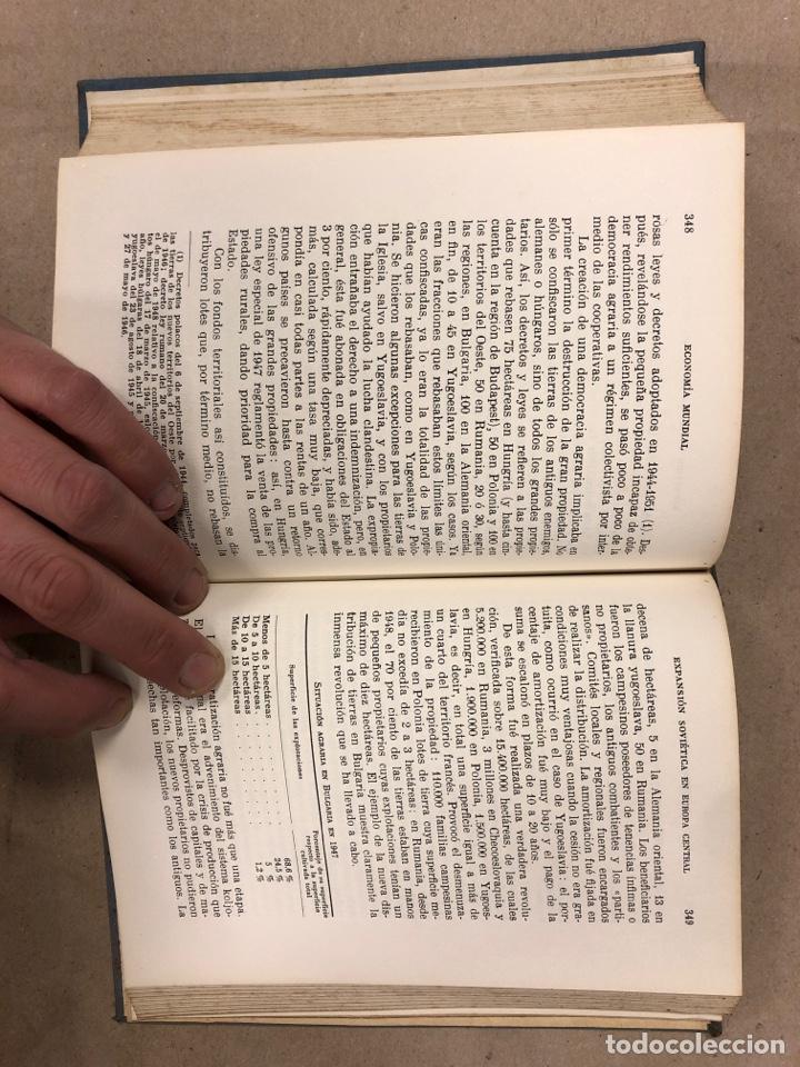 Libros de segunda mano: LA ECONOMÍA MUNDIAL CONTEMPORÁNEA. JEAN CHARDONNET. EDITORIAL TEIDE 1952. COLECCIÓN DURÁN Y BAS IV - Foto 6 - 180267547