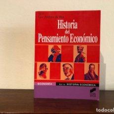 Libros de segunda mano: HISTORIA DEL PENSAMIENTO ECONÓMICO. EDITOR LUIS PERDICES. EDITORIAL SÍNTESIS. NUEVO. Lote 180286151