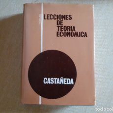 Libros de segunda mano: AGUILAR - LECCIONES DE TEORÍA ECONOMICA - JOSÉ CASTAÑEDA. Lote 180433626