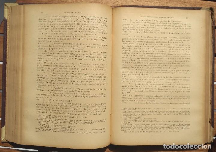 Libros de segunda mano: EL ABOGADO POPULAR. D. PEDRO HUGUET Y CAMPAÑA. 3 TOMOS 1898 - Foto 4 - 180922830