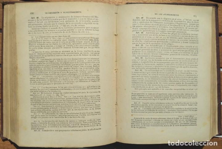Libros de segunda mano: ESTATUTO MUNICIPAL DE 8 DE MARZO DE 1924. 4ª EDICION 1930. - Foto 4 - 180924616