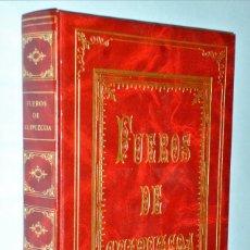 Libros de segunda mano: FUEROS DE GUIPUZCOA. Lote 182033122